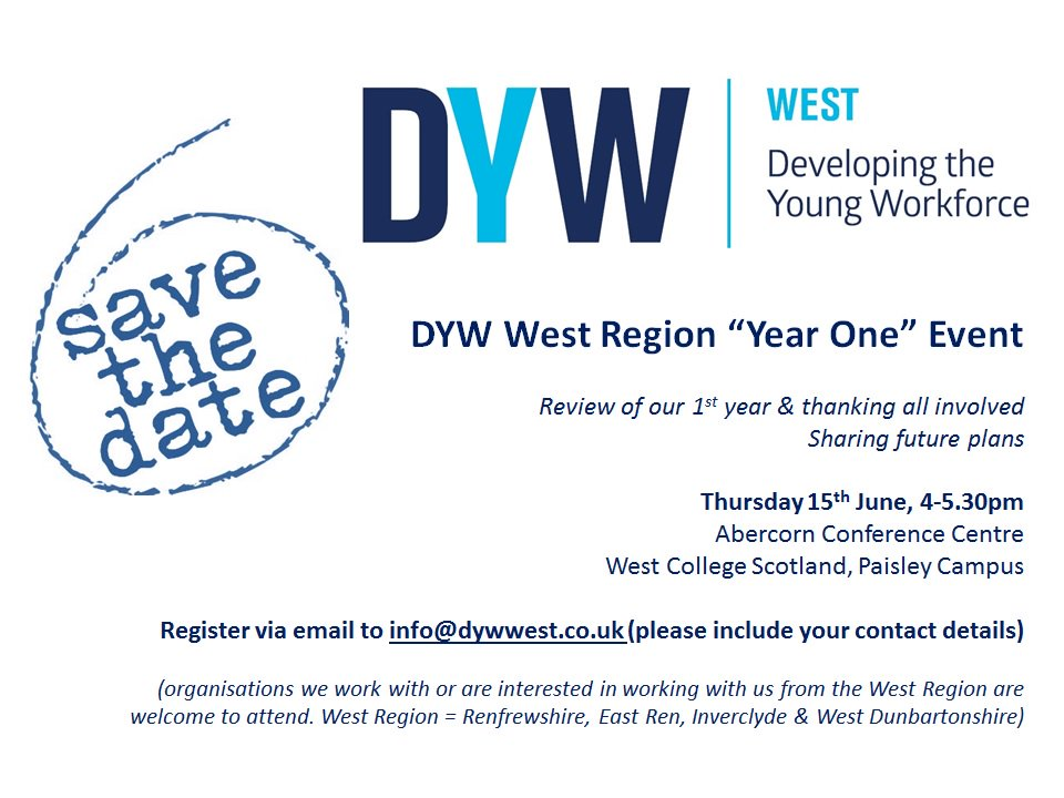 DYW West; Year One Event