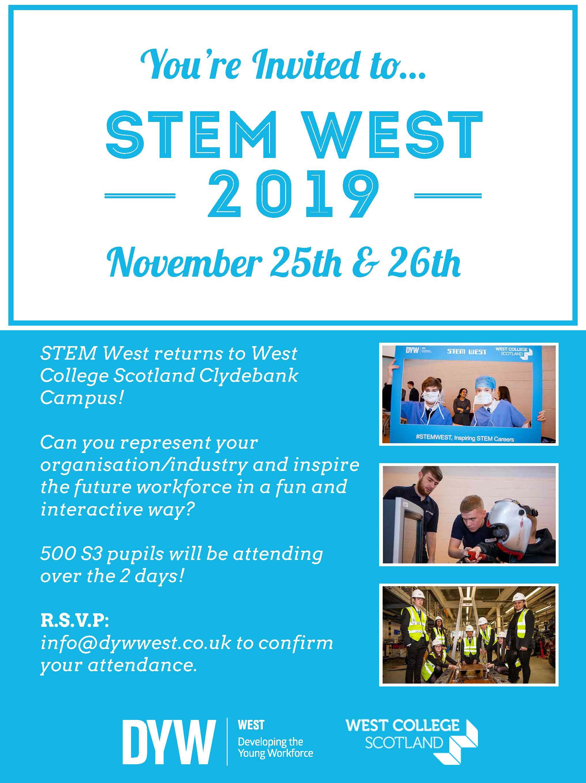 STEM West Returns for 2019